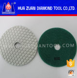 Hexagone Resin Flexible Dry Polishing Pad pour Angle Grinder