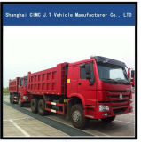 HOWO 6X4 판매를 위한 최고 가격을%s 가진 25 톤 덤프 트럭