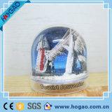 Globo di plastica della neve della foto della decorazione da tavolino dell'ufficio