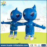 Oxford Cloth Custom Toy Toy Inflatable Moving Cartoon para evento publicitário