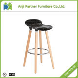 Fabriqué en Chine Gold Member Metal Unfolding ABS Siège en plastique Tabouret de bar (Barry)