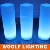 Outdoor Luxury LED Plastic Pillars for Decoration