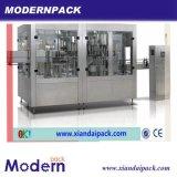 3 em 1 máquina de enchimento e tampando de enxaguadela da pressão da máquina/refresco de enchimento