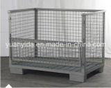 Nestable日本貯蔵容器の粉のコーティングの網パレットボックス容器