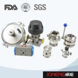 Soupape à diaphragme sanitaire de bas de réservoir d'acier inoxydable (JN-SPV2015)