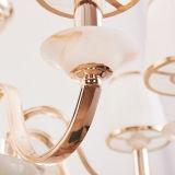 Lampadario a bracci del ferro domestico della decorazione ed indicatore luminoso Bronze di vetro del pendente in Guzhen