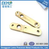 O bronze obstrui as peças da máquina do CNC do equipamento da embalagem