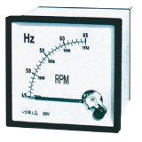 Mètre analogue de facteur de puissance de PE de mètre de panneau