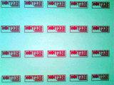Máquina de impressão da tela para o logotipo de papel da etiqueta