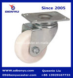 Промышленное Nylon колесо рицинуса с двойным тормозом