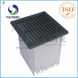 Filtro feito sob encomenda plissado industrial do aspirador de p30 de Filterk