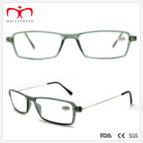 Reading unisexe Glasses avec Metal Temple et Plastic Frame (WRP501004)
