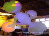 Ballon gonflable de décoration d'usager avec l'éclairage LED pour l'événement