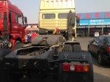 Camion della testa del trattore delle rotelle del motore diesel 10 di Shacman 6X4