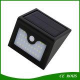 Lámpara solar al aire libre del garage de la luz de calle de la luz solar de la pared del alto brillo de la alta calidad 28LED mini