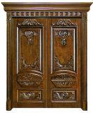 Portas de madeira exteriores do luxo (CL-3049)