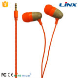 Fördernde Qualitäts-hölzerner Kopfhörer mit Ce&RoHS
