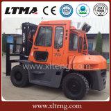 Ltma neuer Gabelstapler-Typ 7 Tonnen-Dieselgabelstapler mit Fahrerhaus