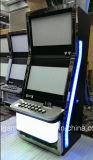 Máquina tragaperras dual de la pantalla con venta caliente del validador de Bill en Venezuela