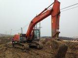 Máquina escavadora usada Hitachi Zx200-3 da esteira rolante