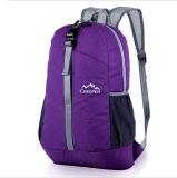 École pourprée multifonctionnelle de sac de sac à dos de sports