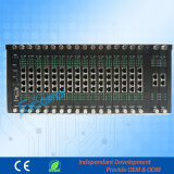 256 Extensions D256A-24256 Central Exchange까지 높은 Reliable PBX System