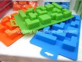 Смешное Tetris сформировало прессформу подносов кубика льда силикона продуктов кухни