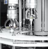 Machine de capsulage de pompe automatique rotatoire pour la crème corporelle