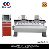 Centro do Woodworking do router do CNC do router do CNC de 8 eixos (VCT-2030W-2Z-8H)