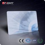 Carte réinscriptible de l'IDENTIFICATION RF 125kHz de coût bas interurbain chaud de vente