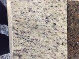 卸し売り自然な石の磨かれた花こう岩の平板の装飾用の白い花こう岩の価格