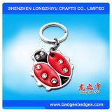 Kundenspezifisches modernes Tier-Metall Keychain, reflektierendes Keychain