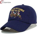 Gorra de béisbol del equipo clásico con bordado plano