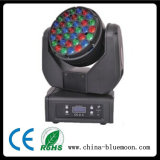 disco Light do diodo emissor de luz Beam Moving Head de Stage Equipment do CREE 36X3w