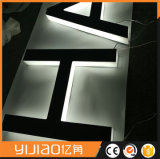 Lettre contre éclairée acrylique faite sur commande populaire de la Manche de DEL à Changhaï