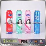 Leeres Aluminiumaerosol kann für Nahrungsmittelaluminiumspray-Flasche