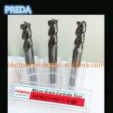 Ferramentas de raio de 3 Flutes Corner para alumínio HRC55