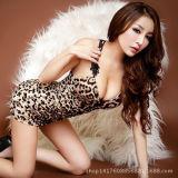 Нижнее белье 18808 повелительниц женское бельё оптовой печати леопарда сексуальное