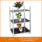 Heißes Sales Display dänisches Flower Trolley Cart mit Pulling System