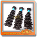 Cabelo humano que tece, cabelo brasileiro de Remy do Virgin do preço de fábrica