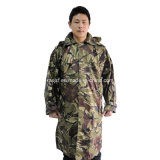 Воинское Outdoor Camping Long Type Raincoat с Hood