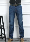 Prix usine de jeans de Mens de denim droit de pantalon de mode long