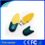 Movimentação popular do flash do USB do estilo do milho da forma do alimento