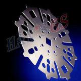 3000W Wuhan Edelstahl-Platte CNC-Faser-Laser-Ausschnitt-Maschine