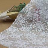 刺繍の衣服のためのナイロン花のボイルのレースファブリックトリミング