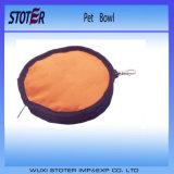 애완 동물과 개를 위한 Foldable 휴대용 사발