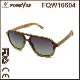 Ventas al por mayor del nuevo diseño de las gafas de sol de madera laminadas 400ce ULTRAVIOLETA de madera de la alta calidad