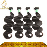 Karosserien-Wellen-Frauen-Haar Weavon natürliche brasilianische Haar-Stücke