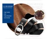 Form-Mann-Metallgürtelschnalle-echtes Leder-Taillen-Riemen