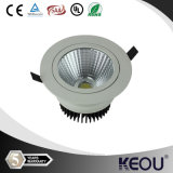 ÉPI enfoncé 3With5With7With10With15With20With30W LED Downlight de Downlight